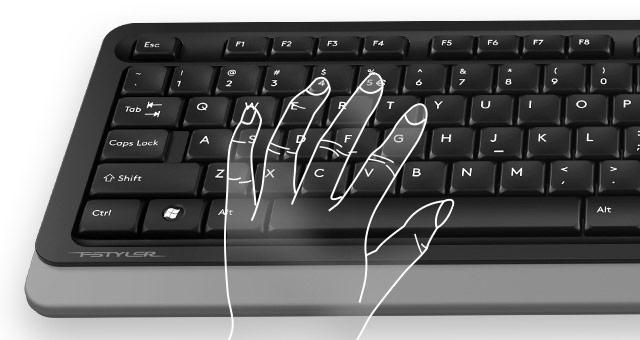 A4Tech FG1010 Keyboard + Mouse Wireless Set